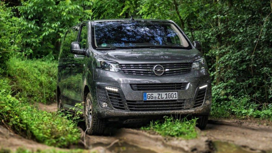 Opel Zafira Life 4x4