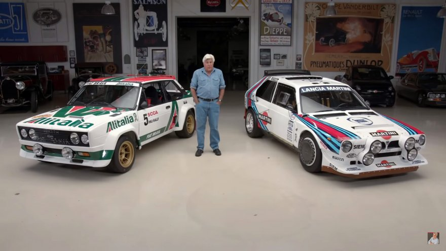 Kaks legendaarset ralliautot.
