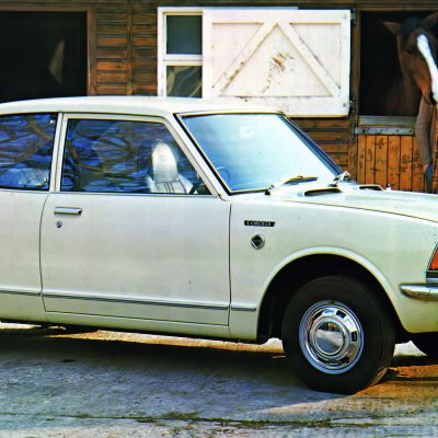 II põlvkonna Corolla (1970)