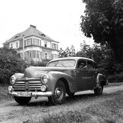 Škoda Superb OHV