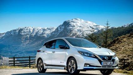 Nissan, Leaf, elektriautod,