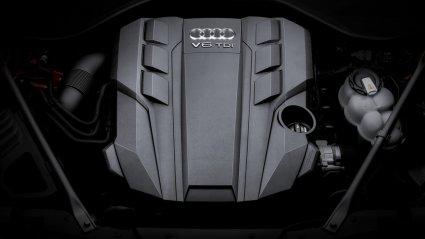 Audi 3-liitrine diiselmootor.